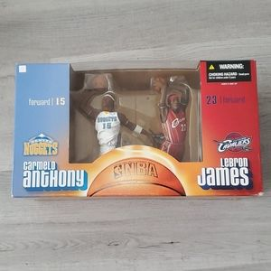 Mcfarlane Lebron James Carmelo Anthony Rookie